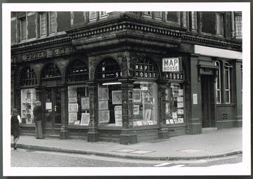 The Map House, St. James's c. 1975