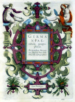[Title-Page] Germaniae Tabule Geographicae ... : G.Mercator