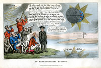 An Extraordinary Eclipse : T. Rowlandson / T. Tegg
