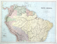 South America (North Sheet) : A.Petermann