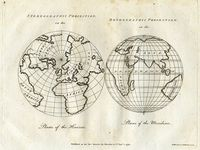 Stereographic Projection On The Phase Of The Horizon ... : Harrison & Co.
