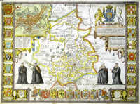 Cambridgshire Described With The Devision Of The Hundreds ...