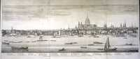 Untitled [Panorama Of The Thames From Westminster Bridge To London Bridge on Five Sheets]