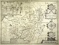 Map Of England 400 Ad.Jonathan Potter