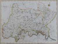 A Map Of Middlesex From The Best Authorities