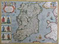 The Kingdome Of Irland Devided Into Severall Provinces ...