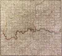 A New Map Containing The Towns .. And Other Remarks Round London..