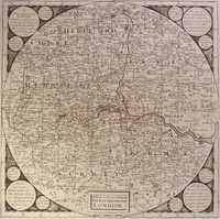 A New & Correct Map Of Twenty Miles Round London