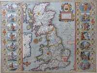Britain As It Was Devided In The Tyme Of The Englishe Saxons ...
