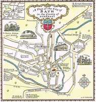 A  Plan Of The City Of Bath in the County of Somerset