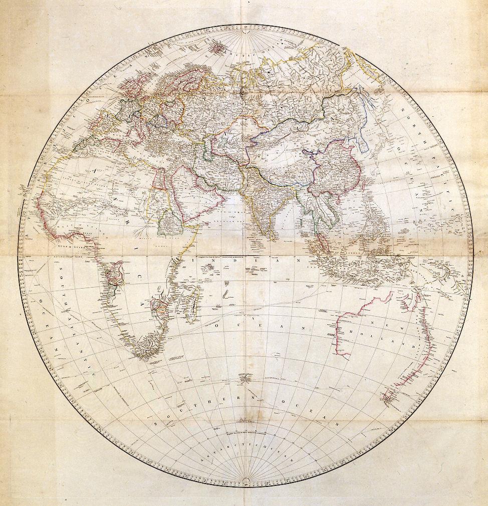 eastern hemisphere blank map - photo #38