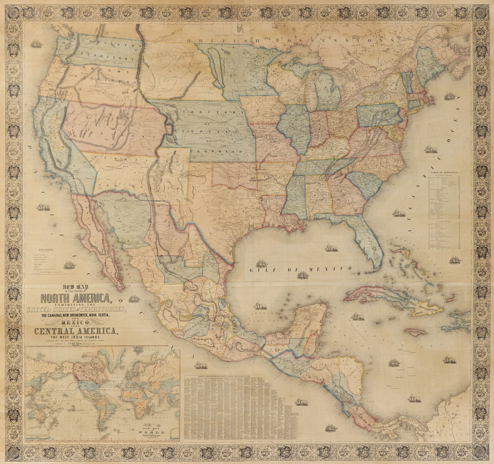 Jonathan Potter Map New Map North America