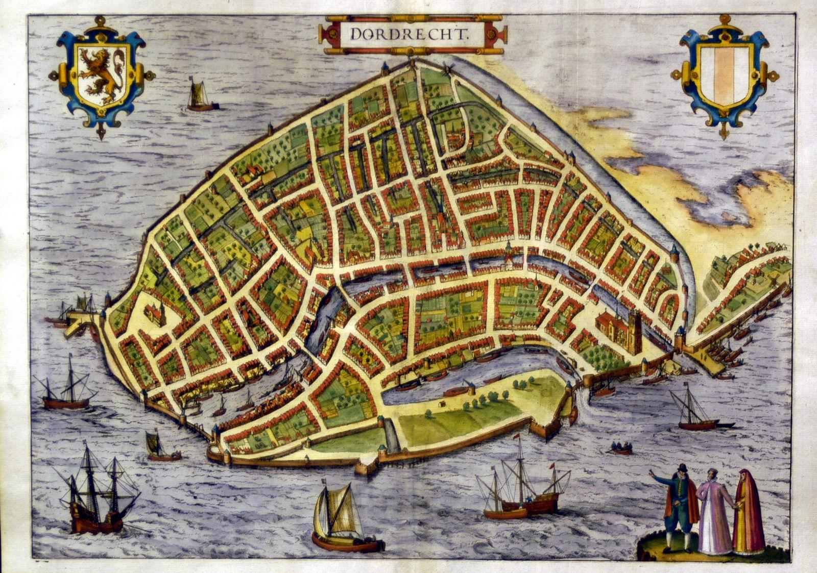Jonathan Potter Map Dordrecht