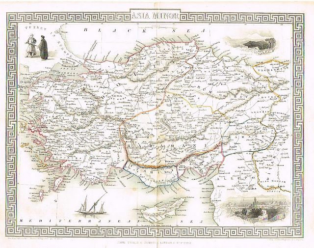 Jonathan Potter Map Asia Minor