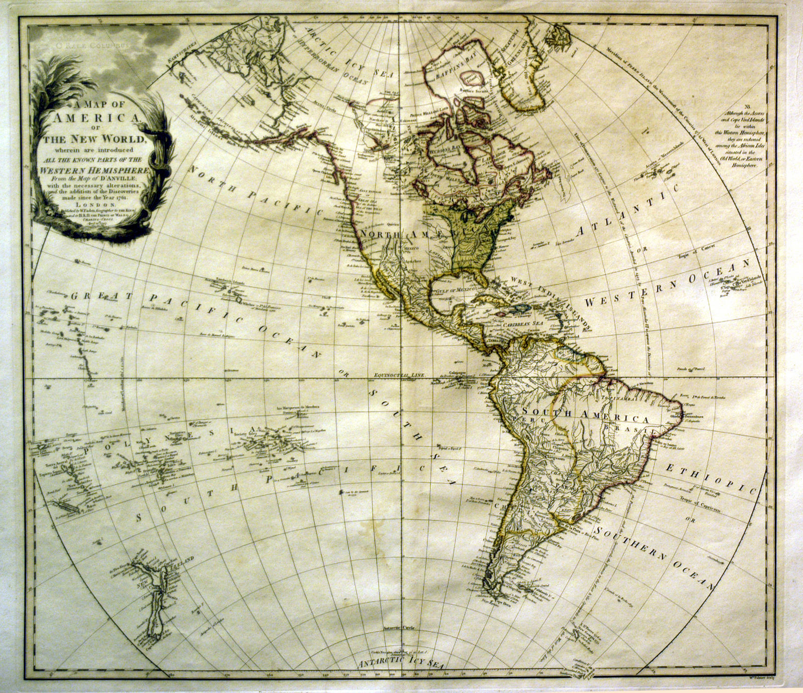 Jonathan potter map a map of north america or the new world a map of north america or the new world gumiabroncs Gallery
