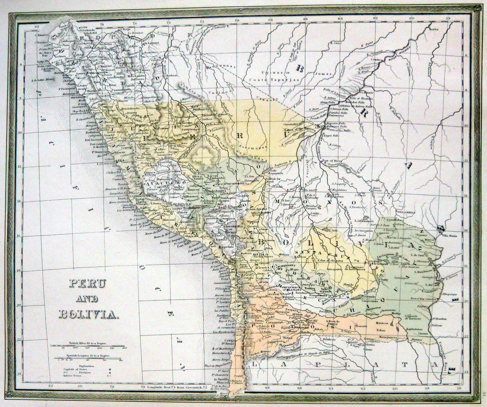 Jonathan Potter Map Peru and Bolivia