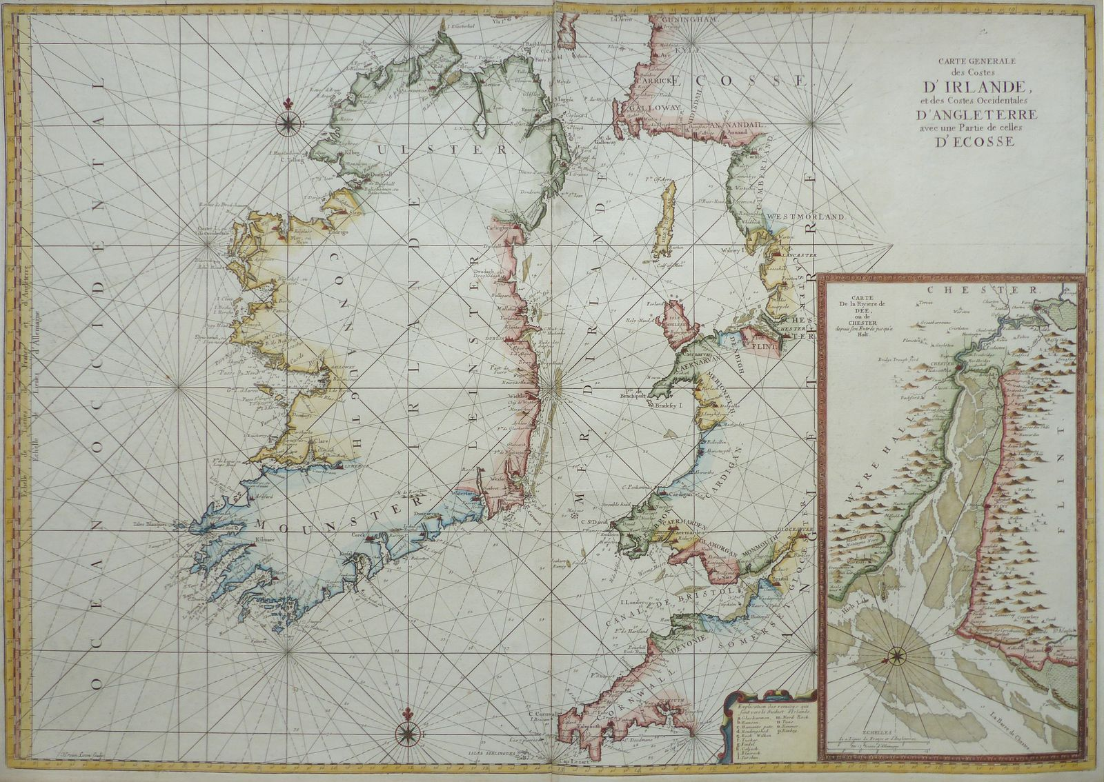 Carte Angleterre Maps.Jonathan Potter Map Carte Generale Des Costes D Irlande