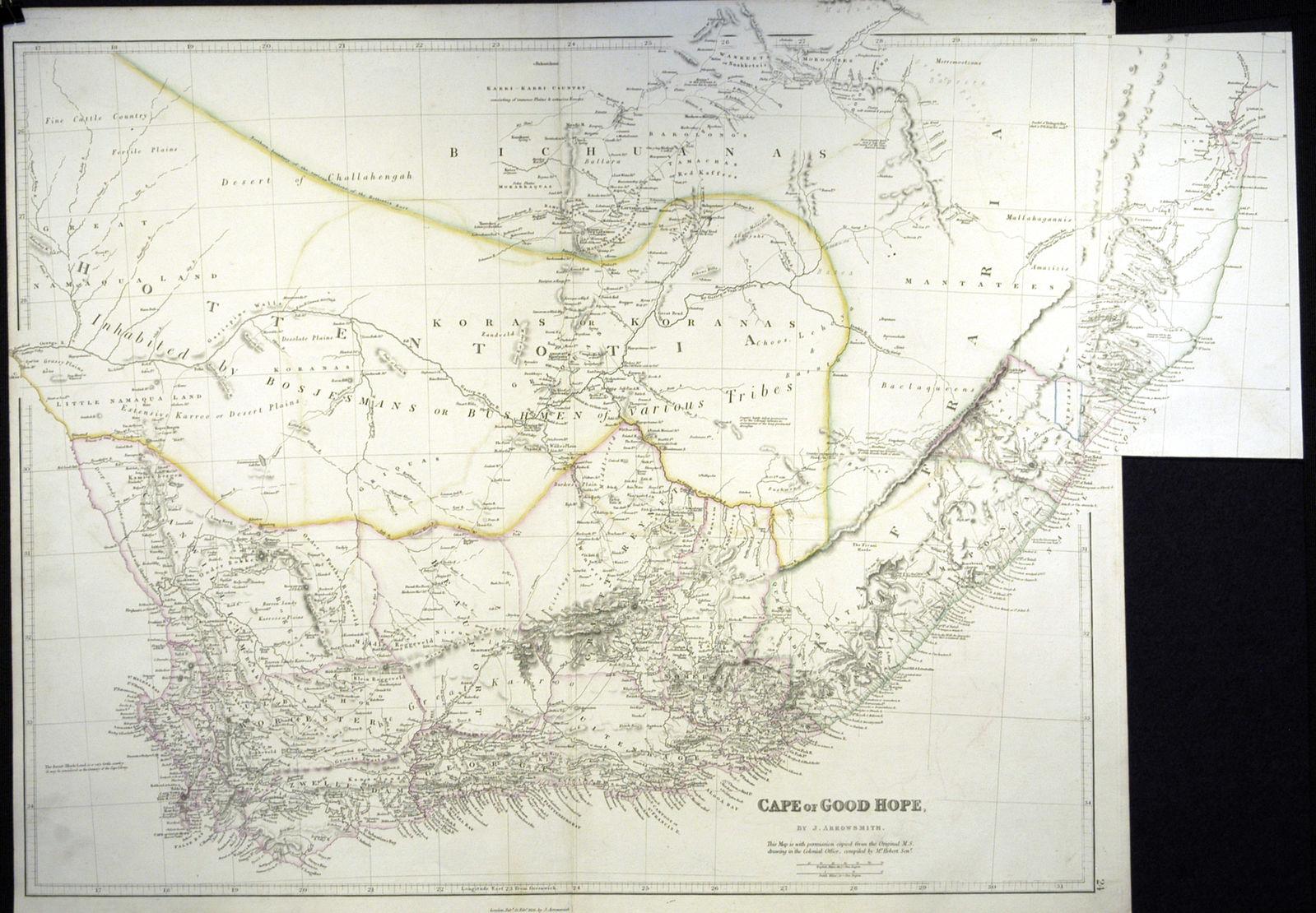 Jonathan Potter: Map : Cape Of Good Hope
