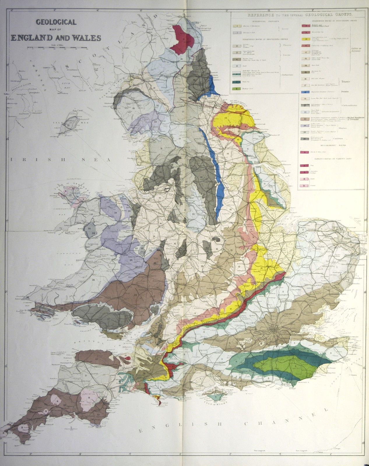 Map Of England Zoom.Jonathan Potter Map Geological Map Of England And Wales