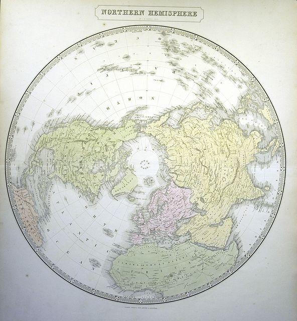 Jonathan Potter: Map : Northern Hemisphere