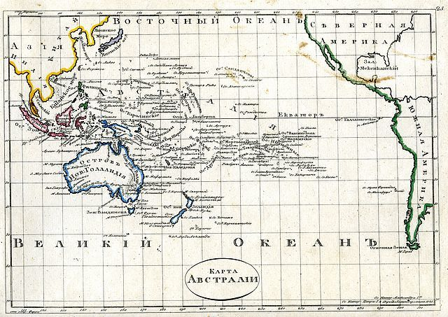 Australia And Pacific Map.Jonathan Potter Map Karta Avstralii Map Of Australia Pacific