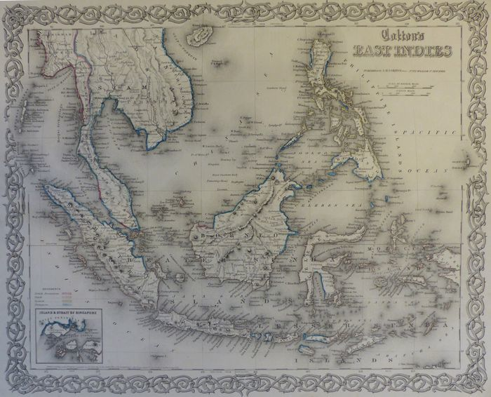 Jonathan Potter Map East Indies